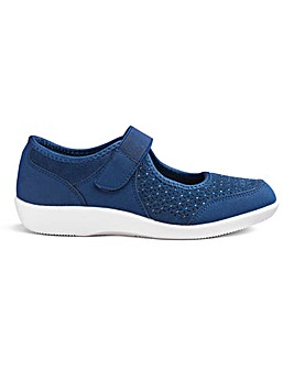 Cushion Walk Comfort Bar Shoes E Fit