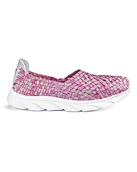 Stretch Slip On Leisure Shoes Extra Wide EEFit