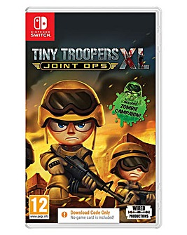 Tiny Troopers XL Joint Ops Code in a Box