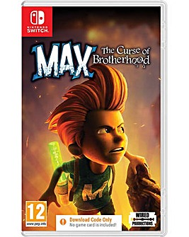 Max The Curse of the Brotherhood Code