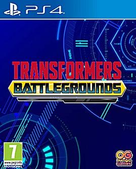 Transformers Battlegrounds PS4
