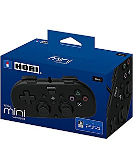 Wired Mini Gamepad for Kids Black PS4