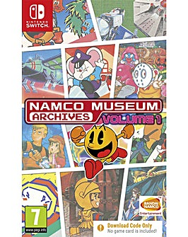 Namco Museum Archive Vol 1 Code In a Box