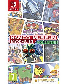 Namco Museum Archive Vol 2 Code in a Box