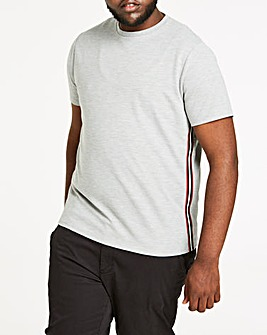 Side Tape Heavy Weight Ribbed T-Shirt L
