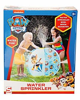 Paw Patrol Beach Ball Sprinkler Boys - 60cm Diameter