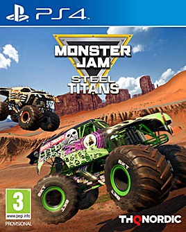 Monster Jam Steel Titans PS4