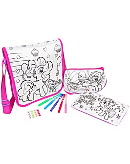 My Little Pony Colour Your Own Bag Set