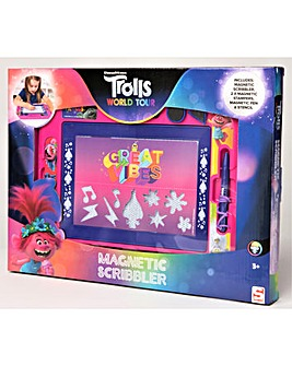 Trolls Medium Magnetic Scribbler Trolls World Tour - Sambro