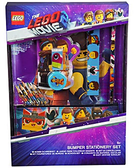 Lego Movie Bumper Stationery Set Include Pen, Pencil, Pencil Case And Eraser