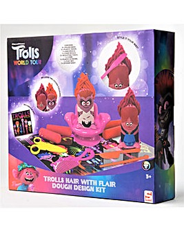 Trolls Hair With Flair Dough Design Kit - Trolls World Tour