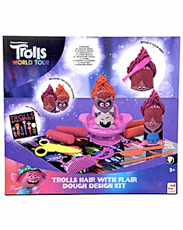 Trolls Hair With Flair Dough Design Kit - Trolls World Tour