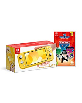 Switch Yellow and Hasbro Game Night