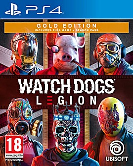 Watch Dogs Legion - Gold Edition PS4