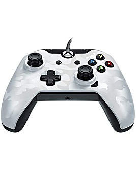 Wired Controller for Xbox One White Camo