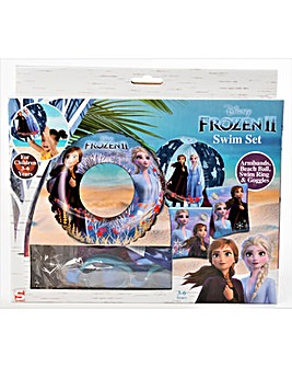 Disney Frozen 2 Swim Set With Goggles