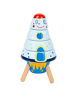 Children's Stacking Space Rockets Set