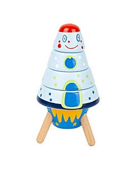 Children's Stacking Space Rockets Set