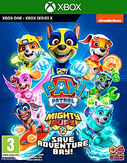 Paw Patrol 2 Mighty Pups Xbox One