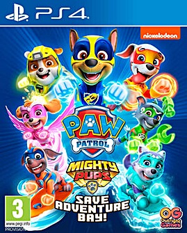 Paw Patrol 2 Mighty Pups PS4