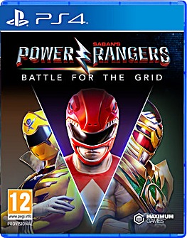 Power Rangers Battle for the Grid PS4