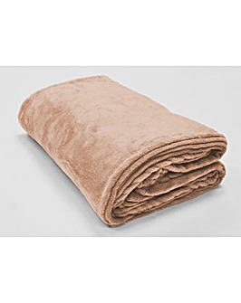 cascade home snugglie fleece throw