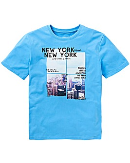 States Blue S/S T-Shirt L