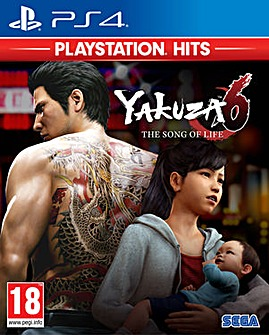 Yakuza 6 The Song of Life HITS Range PS4