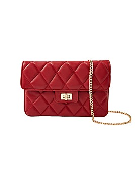 Accessorize Quilted Clutch Bag