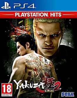 Yakuza Kiwami 2 HITS Range PS4