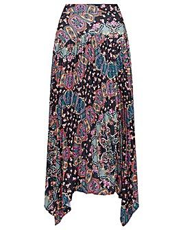 Monsoon Printed Hanky Skirt