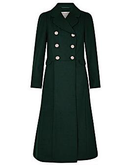 Monsoon Samantha Skirted Coat