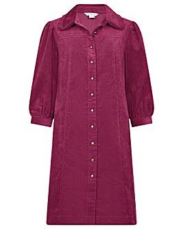 Monsoon Eliza Collared Cord Dress