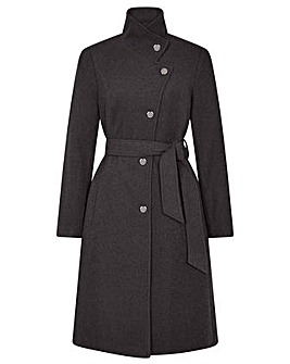 Monsoon Riley Coat with Recycled Wool