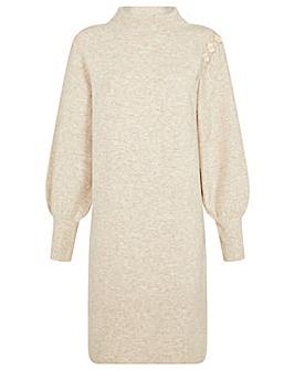 Monsoon Carys Button Knit Dress