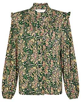 Monsoon Paisley Print Jersey Shirt