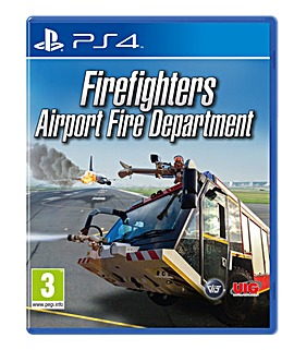 Firefighters Airport Fire Department PS4