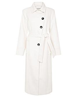 Monsoon Willow Asymmetric Button Coat