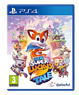 New Super Luckys Tale PS4