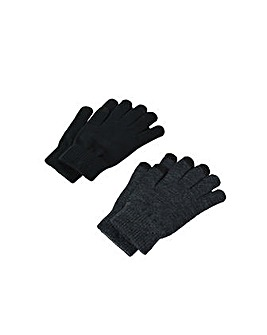 Accessorize Touchscreen Gloves Set