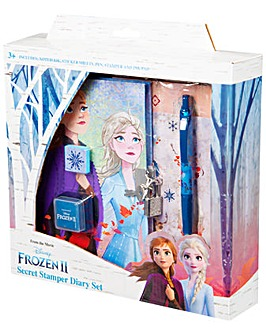 Disney Frozen 2 Secret Stamper Gift Set With Diary, Stickers And Pen