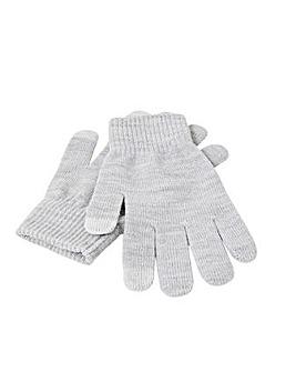 Accessorize Touchscreen Glove Twinset