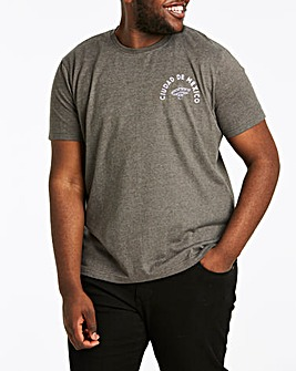 DIA Charcoal Short Sleeve T-Shirt Long
