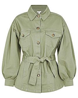 Monsoon Aisha Cargo Military Jacket