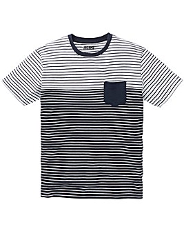 Multi Stripe T-Shirt L