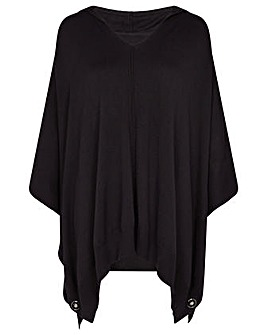 Monsoon Lucy Lightweight Hooded Poncho