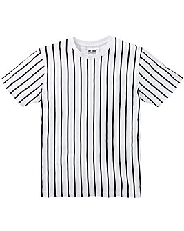 Vertical Stripe S/S T-Shirt L