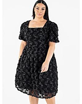 Lovedrobe Luxe Black Midi Dress