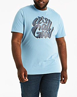 All Good Things Blue T-Shirt L