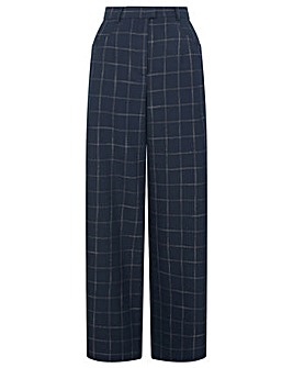Monsoon Charlie Check Belted Trousers